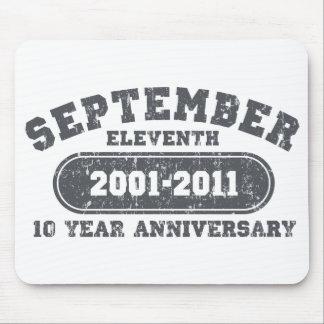 11 de septiembre - aniversario 2011 alfombrilla de ratones
