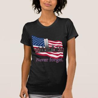 11 de septiembre de 10 camiseta del aniversario
