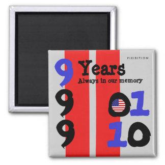 11 de septiembre memoria en 9 años de imán 1