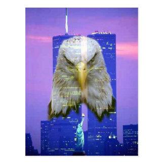11 de septiembre postal de la conmemoración