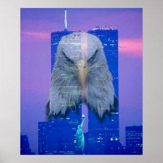 11 de septiembre poster de la conmemoración