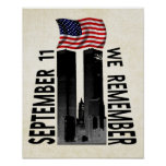 11 de septiembre recordamos posters