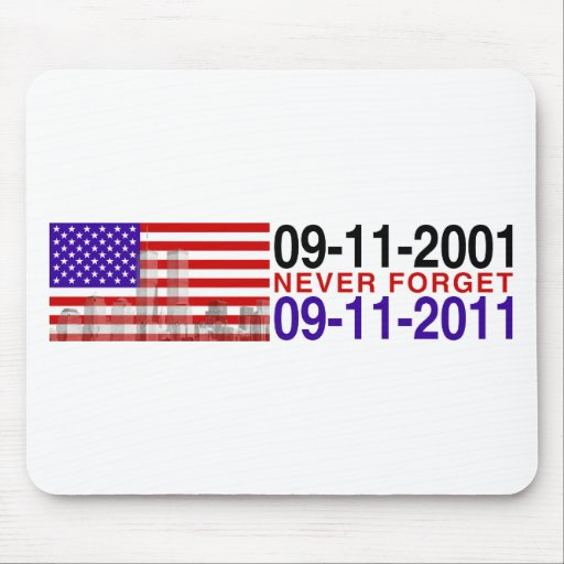 11 de septiembre tapete de ratones