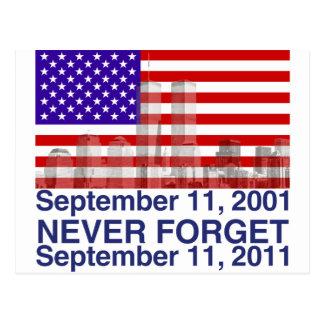 11 de septiembre postal
