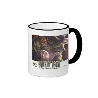11_Dino_Iron_poster Coffee Mugs