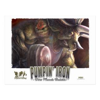 11_Dino_Iron_poster Postcard