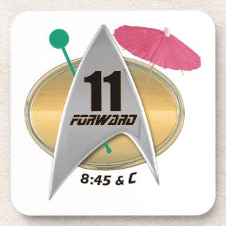 11 Forward Beverage Coaster