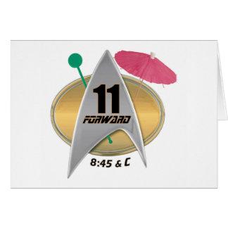 11 Forward Card