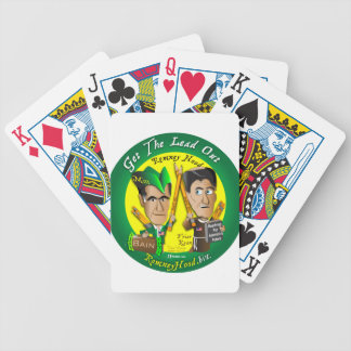 11. Get The Lead Out Bicycle Playing Cards