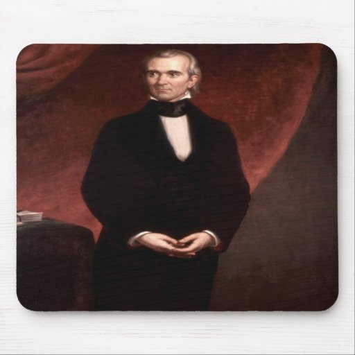 11 James K. Polk Mousepads