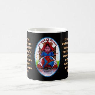 11. Justice - Alice tarot Coffee Mug