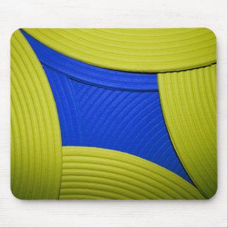 11 Mousepad amarillo y azul Alfombrillas De Raton