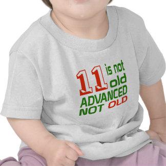 11 no es no viejos avanzado viejo camisetas