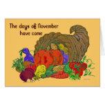 11 November hello Greeting Card