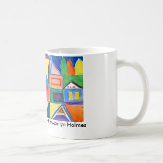 11 oz Classic White Mug - Marilyn Holmes Art
