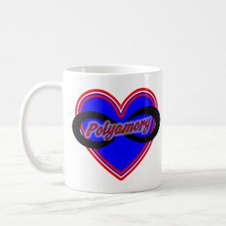 11 oz Classic White Mug with Polyamory Logo
