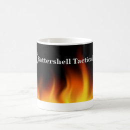 11 oz Fireline Battershell Tactical Logo Coffee Mug