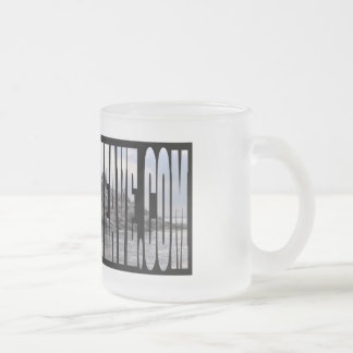 11 oz. Spirit Island Frosted Glass Mug