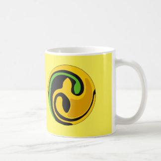 11 oz. Sunny Yellow Celtic Seedling Mug
