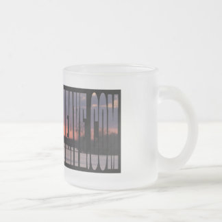 11 oz. Sunset Frosted Glass Mug