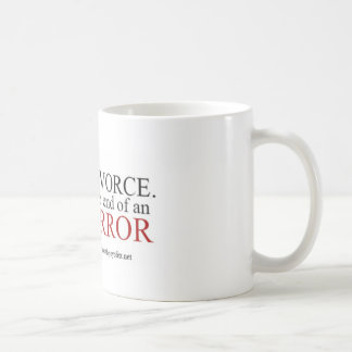 11 oz White Ceramic Mug