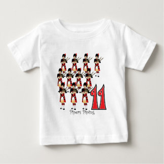 11 Pipers Piping Baby T-Shirt