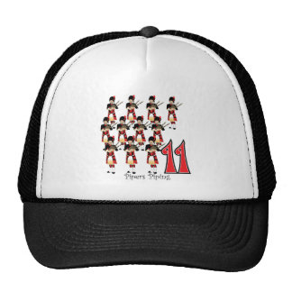 11 Pipers Piping Mesh Hats