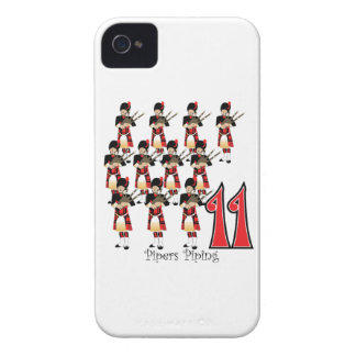11 Pipers Piping iPhone 4 Cover