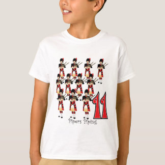 11 Pipers Piping T-Shirt