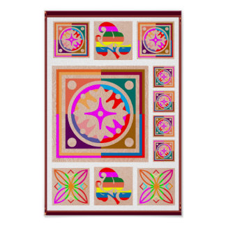 11 Square Decorations - Goodluck Oriental Art