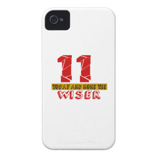 11 Today And None The Wiser iPhone 4 Case-Mate Case