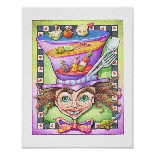 """11""""X14"""" POSTER - THE MAD HATTER"""