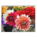 11 x 17 Two-page 2014 calendar of flowers