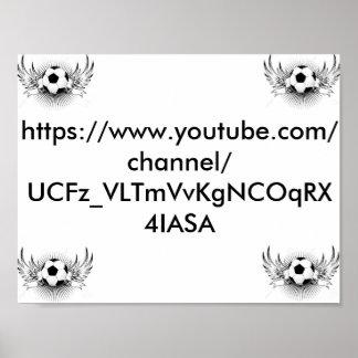 "11"" x 8,5"" poster (YouTube Merch)"