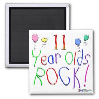 11 Year Olds Rock ! Refrigerator Magnet