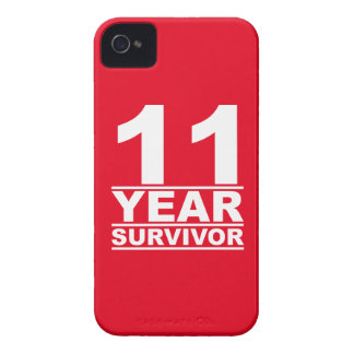 11 year survivor iPhone 4 cover