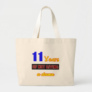 11 years of not giving a jumbo tote bag