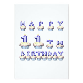 11 Years Old Card