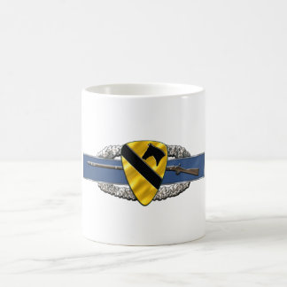 11B  1st Cavalry Division Classic White Coffee Mug