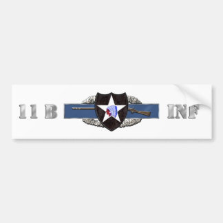 11B 2nd Infantry Division Bumper Stickers