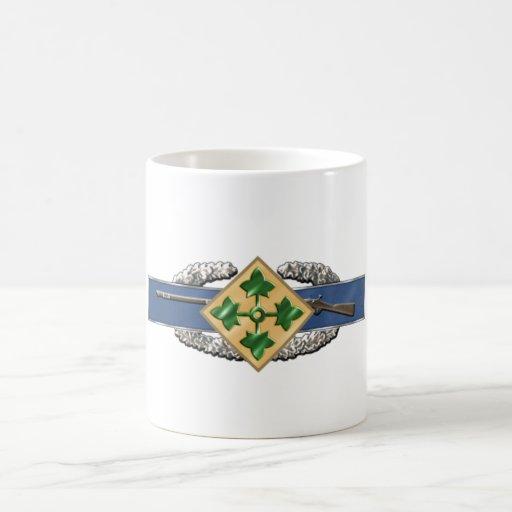 11B 4th Infantry Division Mugs