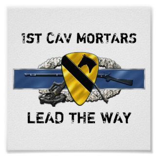 11C 1st Cavalry Division Poster