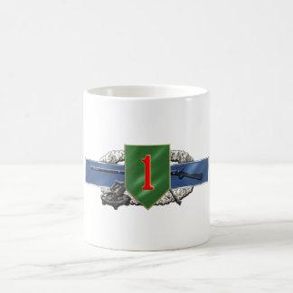 11C 1st Infantry Division Coffee Mug