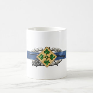 11C 4th Infantry Division Coffee Mug
