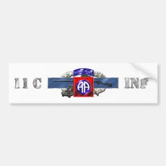 11C 82nd Airborne Division Bumper Sticker