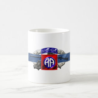 11C 82nd Airborne Division Classic White Coffee Mug