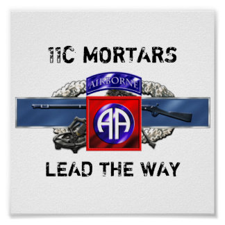 11C 82nd Airborne Division Poster