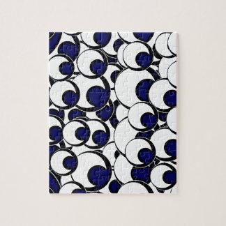 11eyeballs EYES EYEBALLS BLACK BLUE IRIS WHITE DIG Jigsaw Puzzles