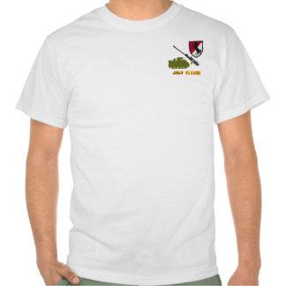 11mo Camisa de la impresión del frente y de la par
