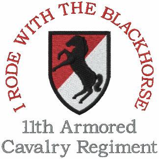 11mo Camisa del remiendo del ACR M551 Blackhorse Chamarra De Deporte Bordada Con Capucha